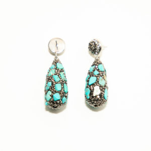 Boucles d'oreilles - collection Two Whistles Exclusive N01